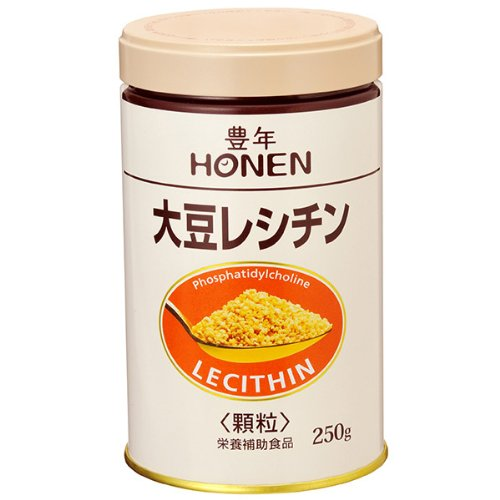 Harvest Soybean Lecithin (Granules 250g Can) By J-oil Mills
