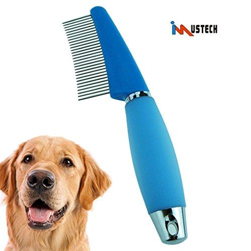 Good Imustech Pet Steel Grooming Comb Pet Grooming Tool Dematting