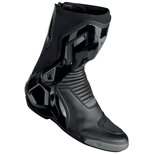 Dainese Course D1 Out Air Boots Black/Anthracite 42 Euro/9 USA by Dainese