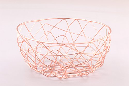 Copper Wire Storage Basket 9