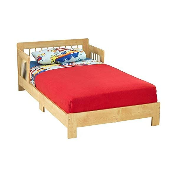 KidKraft 76246 Houston Toddler Bed, Natural