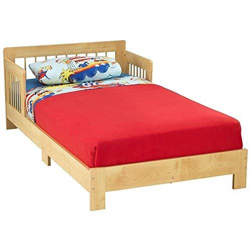 KidKraft Toddler Houston Bed, Natural