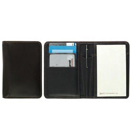 Raika SC 128 WINE Card Note Case With Pen - Wine