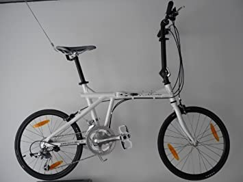 edelweiss R2 - Plegable-Bike / Bicicleta plegable / Bicicleta Plegable - blanco