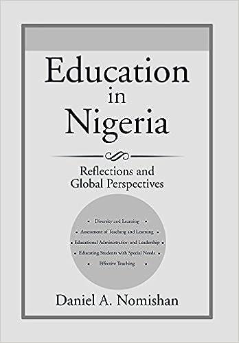 Livres audio anglais téléchargement gratuitEducation in Nigeria: Reflections and Global Perspectives (Littérature Française) PDF 1499041950