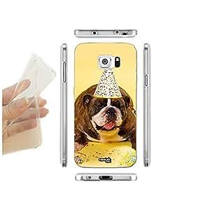 FUNDA CARCASA SLIM DOG FESTAIOLO PARA SAMSUNG GALAXY S6 G920F TPU