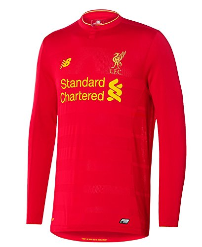 2016-2017 Liverpool Home Long Sleeve Shirt - Sleeve Liverpool Jersey Long