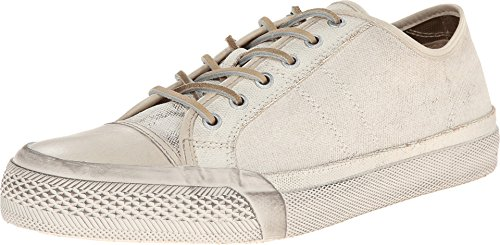 Frye Greene Low Lace Mens White Leather Lace Up Lace Up Sneakers Shoes 13 ()