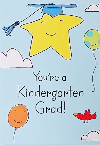 You're A Kindergarten Grad - Graduation Greeting Card -
