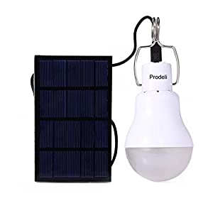 41WKrISL0lL. SS300  - Solar Panel Powered LED Light Bulb Upgrades Portable 1.5W S-1200 130LM Solar LED Lights Lamp for Indoor Emergency Reading and Outdoor Hiking Camping Tent Lighting …