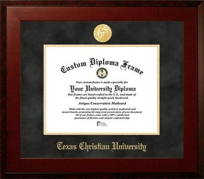 Texas Christian University Contemporary Diploma Frame by Diploma Frame Deals