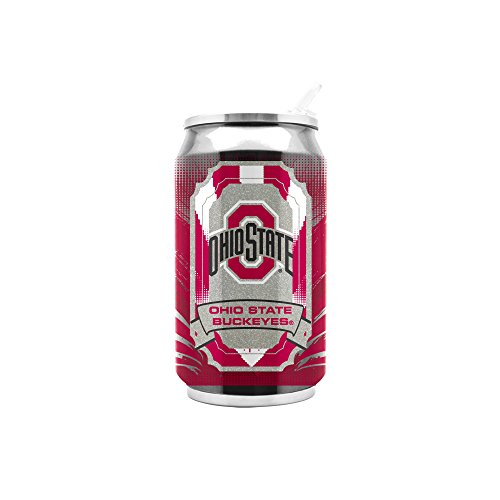 NCAA Ohio State Buckeyes 16oz Double Wall Stainless Steel -