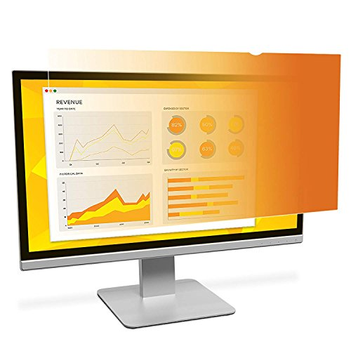 3M Gold Privacy Filter for 24 Widescreen Monitor (16:10) (GF240W1B)