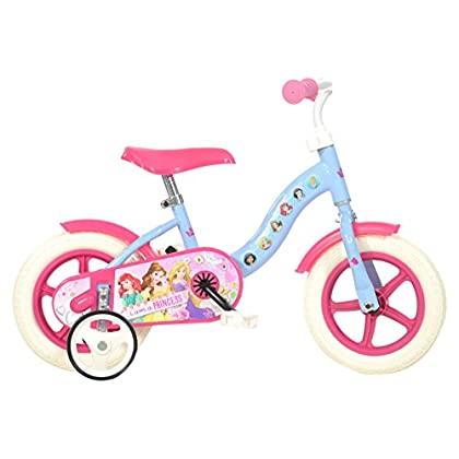 Image of Balance Bikes Dino Bikes 108L-PSS 10-Inch Disney Princess Bicycle