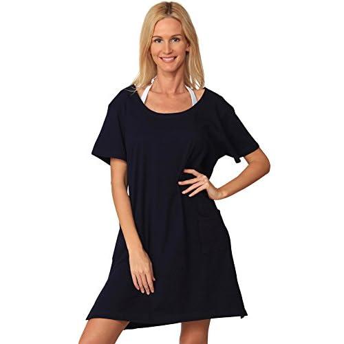 80off Ingear Cotton Dress Summer White Beach Sleeve Casual Short