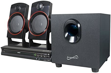 Supersonic SC-35HT SC-35GT 2.1 Dwelling Theater System (Discontinued by Producer)