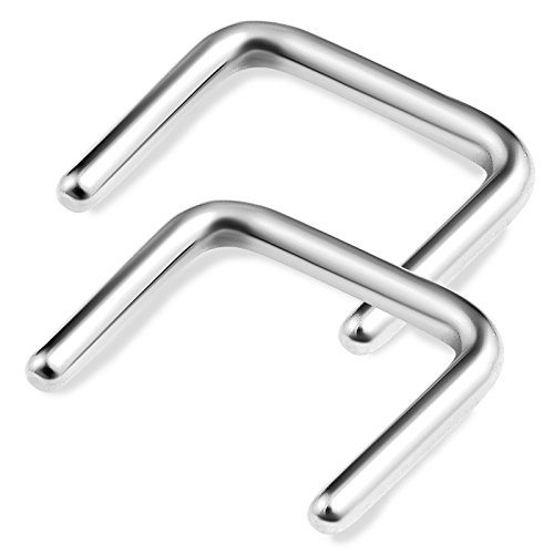 2pcs-16g-5-16-septum-retainer-hanger-piercing-u-shaped-316l-surgical-steel-staple-nose-jewelry-steel