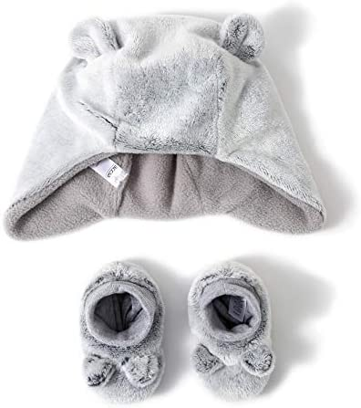 accsa Unisex Booties Infant Fleece