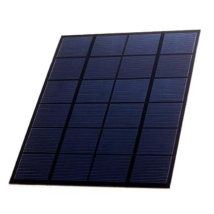 Mini cargador solar 5 W Panel Solar Outdoor DIY batería ...