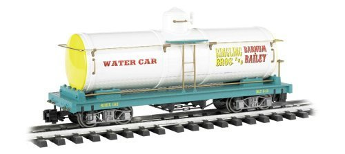 (Bachmann Industries Ringling Bros. and Barnum & Bailey - Water Tank Car - Large G Scale Rolling Stock Train)