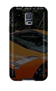 New Style 1127376K82417541 Protective Case For Galaxy S5(lamborghini Murcielago 11)