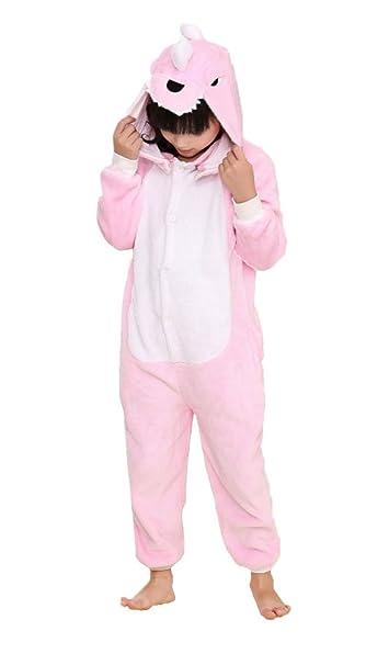 Cliont Niños Animal Dragón Onesie Pijama Navidad niño Traje ...