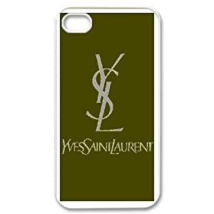 Yves Saint Laurent YSL Logo For iPhone 4 4s Phone Case Cover 6FY956915