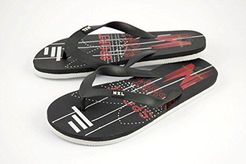 Herren Flip Flops - schwarz, 45