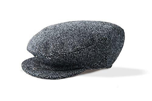 Vintage Mens Harris Tweed - Harris Tweed Vintage Cap by Boyne Valley Knitwear (X-Large)