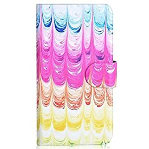 QHY Lce Cream Pattern PU Mobile Phone Holster With Card Slot for Samsung S5/i9600