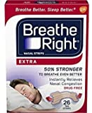 Breathe Right Nasal Strips, Extra, 26 Count, Pack