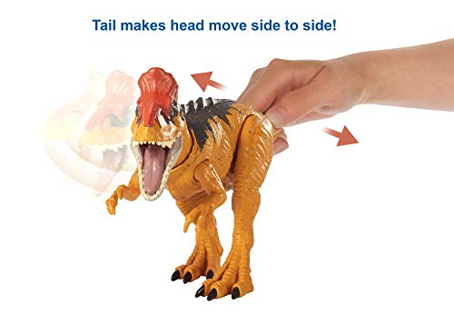 Jurassic World Sound Strike Dinosaur Action Figure, Cryolophodaurus