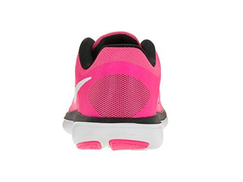 Chaussures blanc rose Femme Compétition NIKE 2016Rn Noir UK Gris de Flex Running 1xUF7
