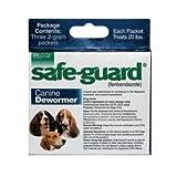 Safe-Guard Canine Dewormer 3 Dose x 2 gram, My Pet Supplies