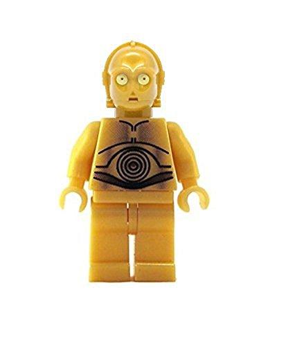 레고 스타 워즈 미니 피겨-C-3PO C3PO DROID CLASSIC(옐로우 아이즈 버전)