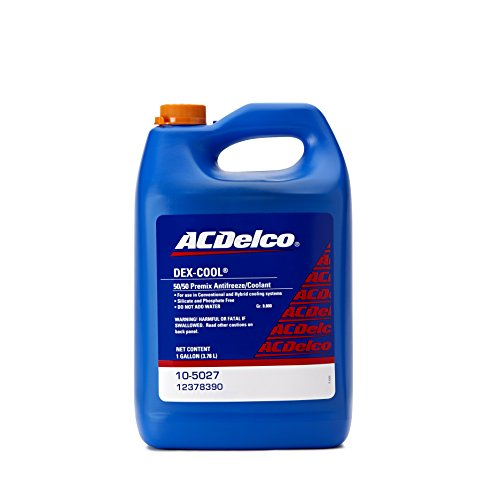 (ACDelco 10-5027 Dex-Cool 50/50 Pre-Mix Engine Coolant/Antifreeze - 1)
