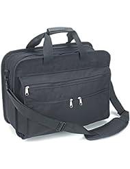Laptop computer bag briefcase 16-1/2 USA made