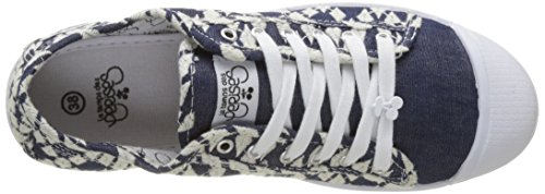 Le Temps des CerisesBasic 02 - botas de caño bajo Mujer Azul (Blue Bell)