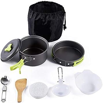 Juego de 8 piezas de utensilios de cocina portátiles para ...