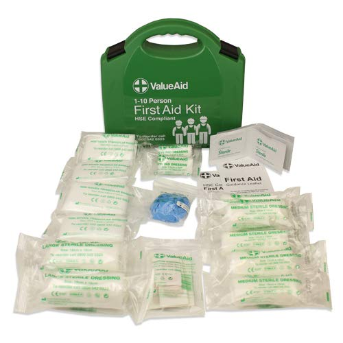 Value Aid HSE Compliant Workplace First Aid Kit (1-10 Person)
