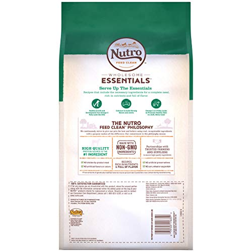 DISCONTINUED BY MANUFACTURER: NUTRO WHOLESOME ESSENTIALS  Puppy Pasture-Fed Lamb & Rice Recipe 5 Pounds