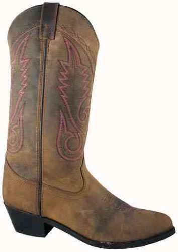 Women's Taos Leather Western Boot B0079XC3CY 5.5|Brown