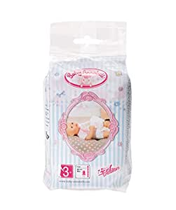 Amazon.com : Baby Annabell - Pack Of 5 Nappies : Baby