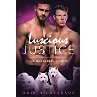 Luscious Justice: A Paranormal Mpreg Gay Romance (The Omega Date Diaries) (Volume 1)