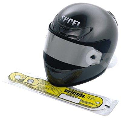 Shoei Super Thin Tear-Off Universal Road Race Street Helmet Accessories - Color: Clear, Size: Full Cut#1018 - 5mm/10pk