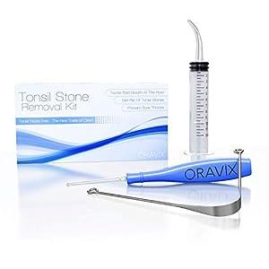 Kit per rimuovere calcoli tonsillari | Rimuovere le pietre tonsillari | Rimedio mal di gola | Rimedio alito cattivo…