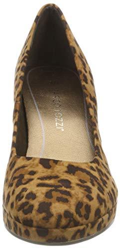338 Tozzi Zapatos muscat De Para Multi Marrón 22435 31 Mujer Marco Tacón aPwqa