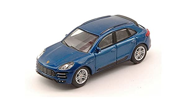 Schuco SH20137 Porsche MACAN Turbo Blue 1:64 MODELLINO Die Cast Model: Amazon.es: Juguetes y juegos
