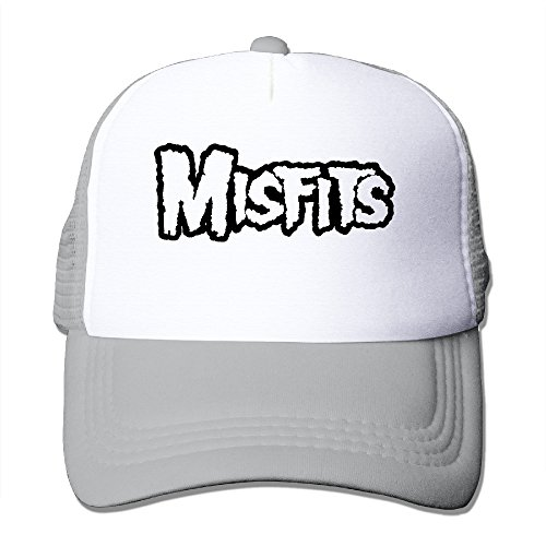 CCbros Misffits Leisure Mesh Back Hat Cap One Size Fit All Ash