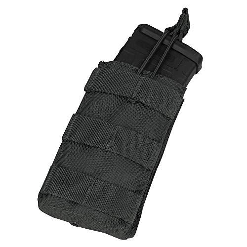Single M4/M16 Open Top Mag Pouch Color- Black